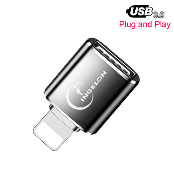 for lightning to sd tf card camera reader adapter compatible camera kit otg data cable needn t app for iphone apple ios 9 2 11 3 OTG Card Reader to Camera Adapter 3.0 for Lightning USB Cable Converter Electric Piano MIDI Keyboard for iphone 7 8 ios 13 ipad