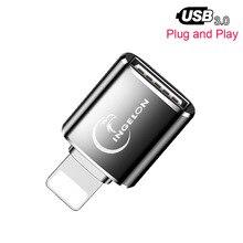 Đầu Đọc Thẻ OTG Đến Camera Adapter 3.0 Dùng Cho Cáp Lightning USB Chuyển Đổi Piano Điện Midi Bàn Phím Cho Iphone 7 8 IOS 13 iPad