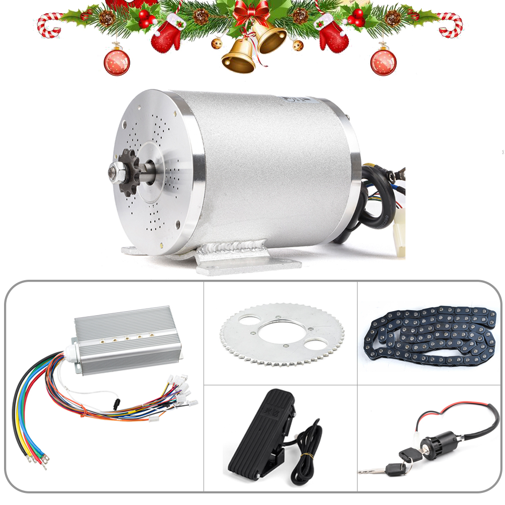 72v <font><b>3000w</b></font> Electric <font><b>Motor</b></font> for Bike, <font><b>Brushless</b></font> DC <font><b>Motor</b></font> for Electric Vehicle, Ebike Conversion Kit With Controller Throttle Parts image