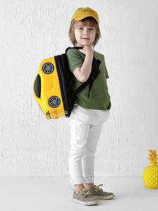 Small Backpack School-Bag Kindergarten Children's Student Cartoon Casual Car-Type