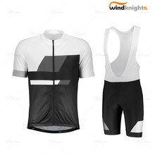 Radfahren jersey set Scott-RC team kurzarm kleidung Bib Hosen Set Hombre Roupa MTB racing bike uniform Sommer atmungsaktiv(China)