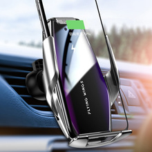 15W Qi Car Charger Holder for iPhone 11 11Pro 11Pro Max Samsung S20 Fast Charge Car Phone Holder for iphone 12 Pro 12Pro Max