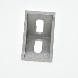 10 sztuk montaż narożny kąt złącze aluminiowe wspornik mocujący 2020 3030 4040 4545 serii przemysłowy profil aluminiowy w Narożne wsporniki od Majsterkowanie na