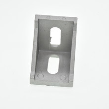 10pcs corner fitting angle aluminum connector bracket fastener 2020 3030 4040 4545 series industrial aluminum profile