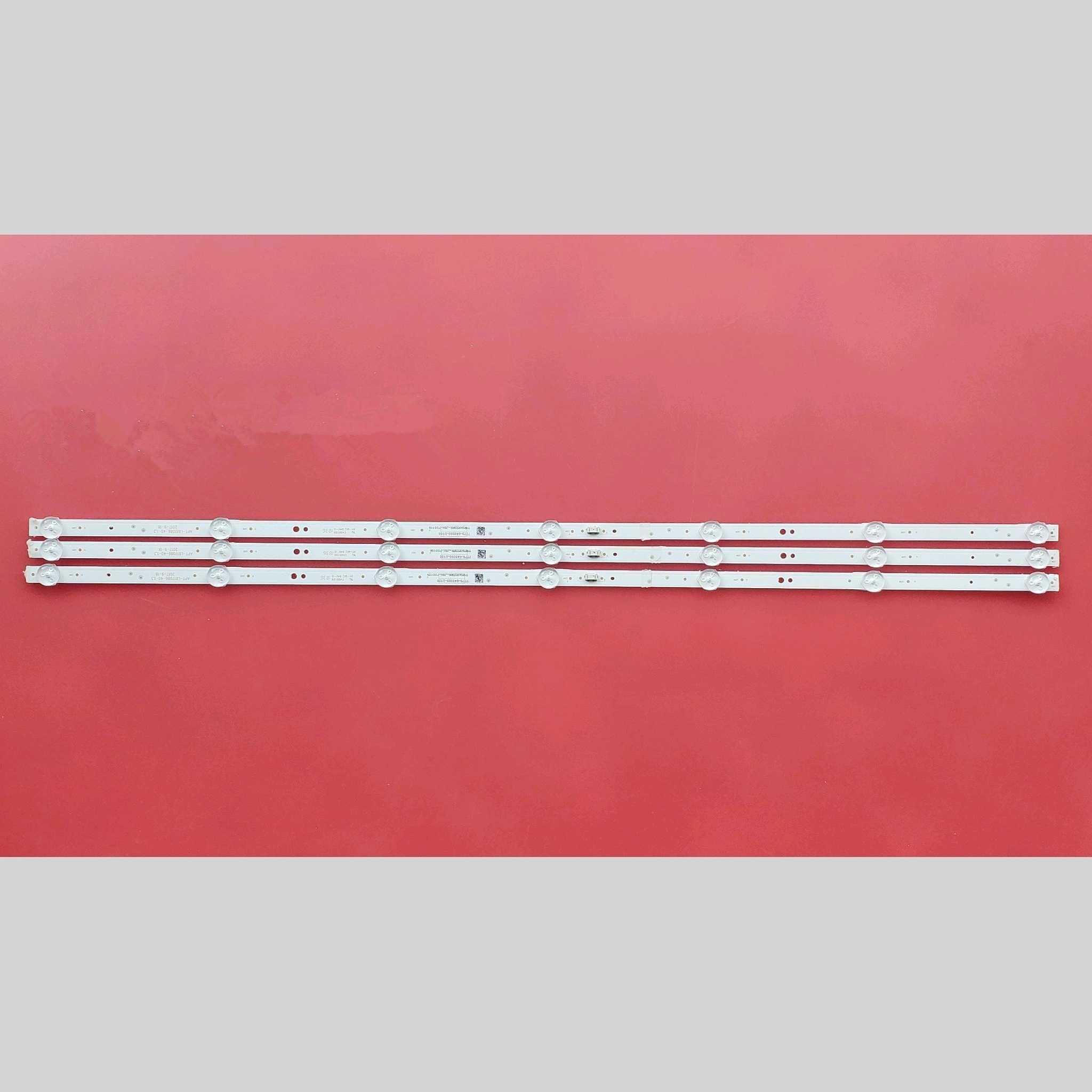 Светодиодный Подсветка полоса 7 лампы для Skyworth 40