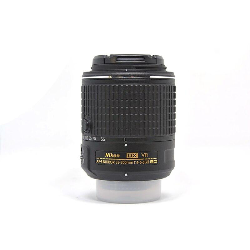 VERWENDET NIKON AF S DX NIKKOR 55 200mm f/4 5,6G ED VR II Objektiv (99% NEUE) - 3