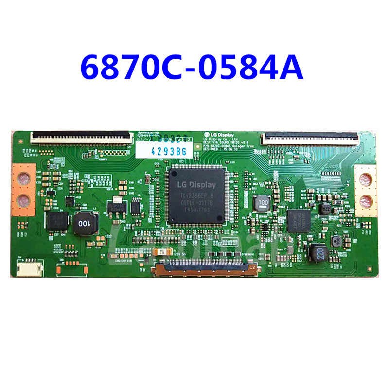 Latumab Original T-Con logic Board <font><b>LG</b></font> 6870C-0584A 6870C-0584B For <font><b>LG</b></font> LCD <font><b>LED</b></font> <font><b>TV</b></font> Controller Board Logic board 43 49 <font><b>55</b></font> <font><b>inch</b></font> image