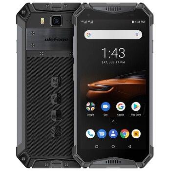 Перейти на Алиэкспресс и купить Ulefone armor 3W NFC 10300mAh IP68 Ударопрочный мобильный телефон Android 9,0 Helio P70 6G + 64G Face ID 4G LTE прочный смартфон