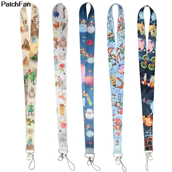 20pcs/lot A3352 Patchfan Cartoon Little Prince Lanyard Badge ID Lanyards Mobile Phone Rope Key Lanyard Neck Strap Accessory