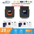 ELM327 V2.2 PIC18F25K80 ELM 327 V2.2 Bluetooth 4,0 для Android/IOS OBD OBD2 автомобильный диагностический инструмент obd2 сканер кодов
