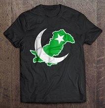 Camiseta de Día de la independencia de Pakistán para hombre y mujer, camiseta