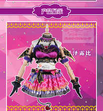 Anime Cosplay Costume Love Live Sunshine Aqours Little Devil Ruby Kurosawa Dress Christmas Costumes Wing A aqours love live sunshine sakurauchi riko christmas dress autumn winter cosplay costume a