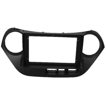 9 Inch 2Din Car Fascia for HYUNDAI I10 2014-2017 ( Left Wheel ) Car Dvd Frame Panel In-Dash Mount Installation