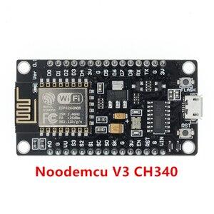 Image 3 - 50 шт. беспроводной модуль CH340/CP2102 NodeMcu V3 V2 Lua WIFI Интернет вещей макетная плата на основе ESP8266 с антенной pcb