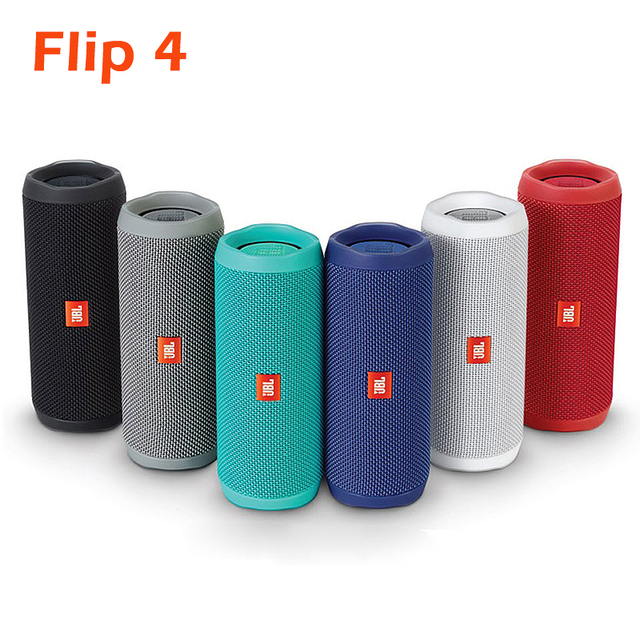 Flip 4 Powerful Bluetooth Speaker Mini Portable Wireless Waterproof BT Speaker with Bass and Stereo Music Pk Filp 5 2 Charge 4 3