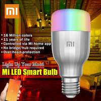Xiaomi Yeelight Colorful Bulb E27 Smart APP WIFI Remote Control Smart LED Light RGB Colorful Romantic LED Lamp LED Bulb