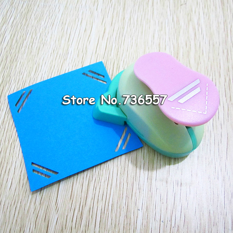 Double Equal Line Corner Craft Punch Curve Diy Border Hole Punch Paper Cutter Embossing Cortador De Papel De Scrapbook