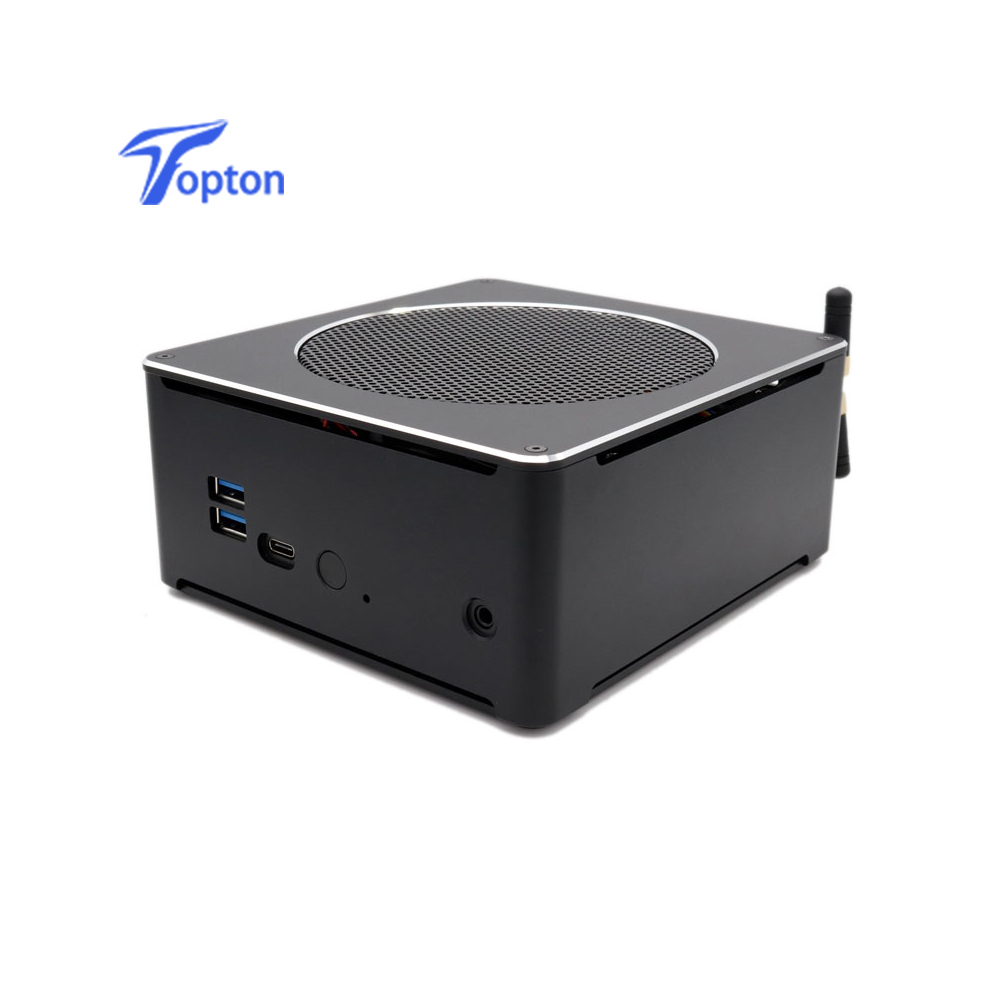 Topton High Quality Gaming Mini PC I7 8750H/8850H I5 8300H E3-1505M 6 Core 12 Threads 64GB DDR4 With AC Wifi Win10 Pro Computer