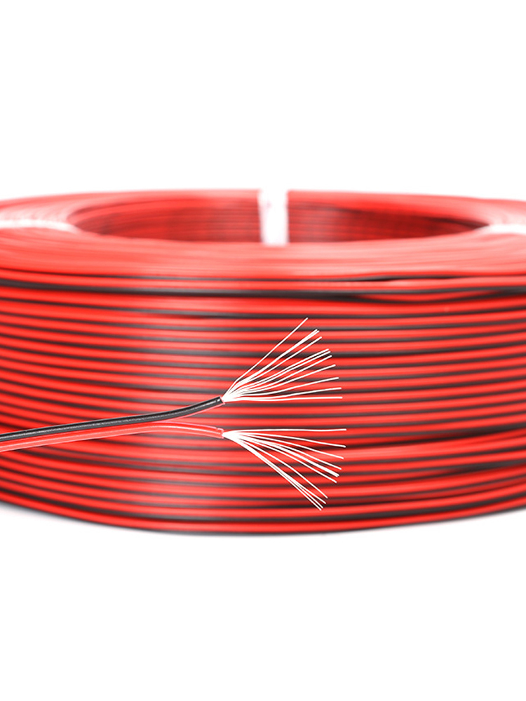 Red Cable Copper-Wire Electronic-Equipment Tinned Black 2pin Internal-Wiring UL2468