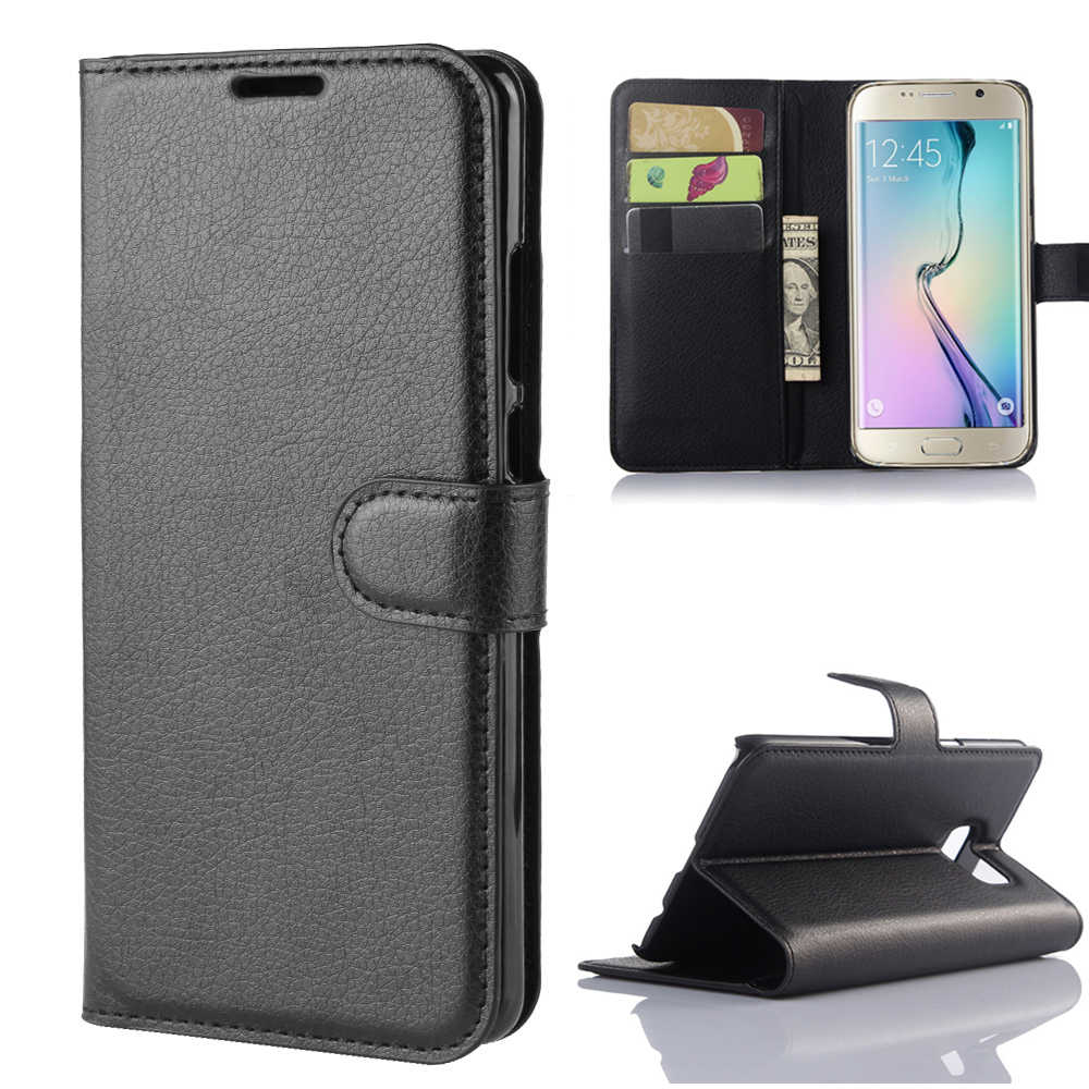 Wallet Cover Card Holder Phone Cases for Samsung Galaxy S6 edge Plus Pu Leather Protective Case for Samsung S6 active S6 edge