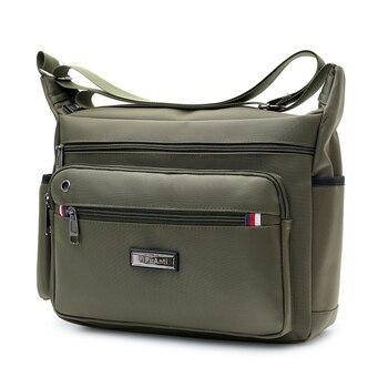 Bolso de hombro Oxford para hombre, bolsos de mensajero para hombre, Bolso pequeño de hombro informal, paquete de bolsos cruzados