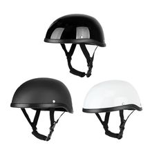 Motorcycle Cap Helmet Vintage Half Face Helmets Retro Safety Hat Riding Head Protector