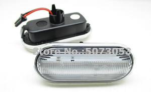Image 4 - 2PCS Led Dynamic Side Marker Turn Signal indicator Light Sequential Blinker for VW Bora Golf 3 4 Passat Vento T5 Polo SB6 Sharan