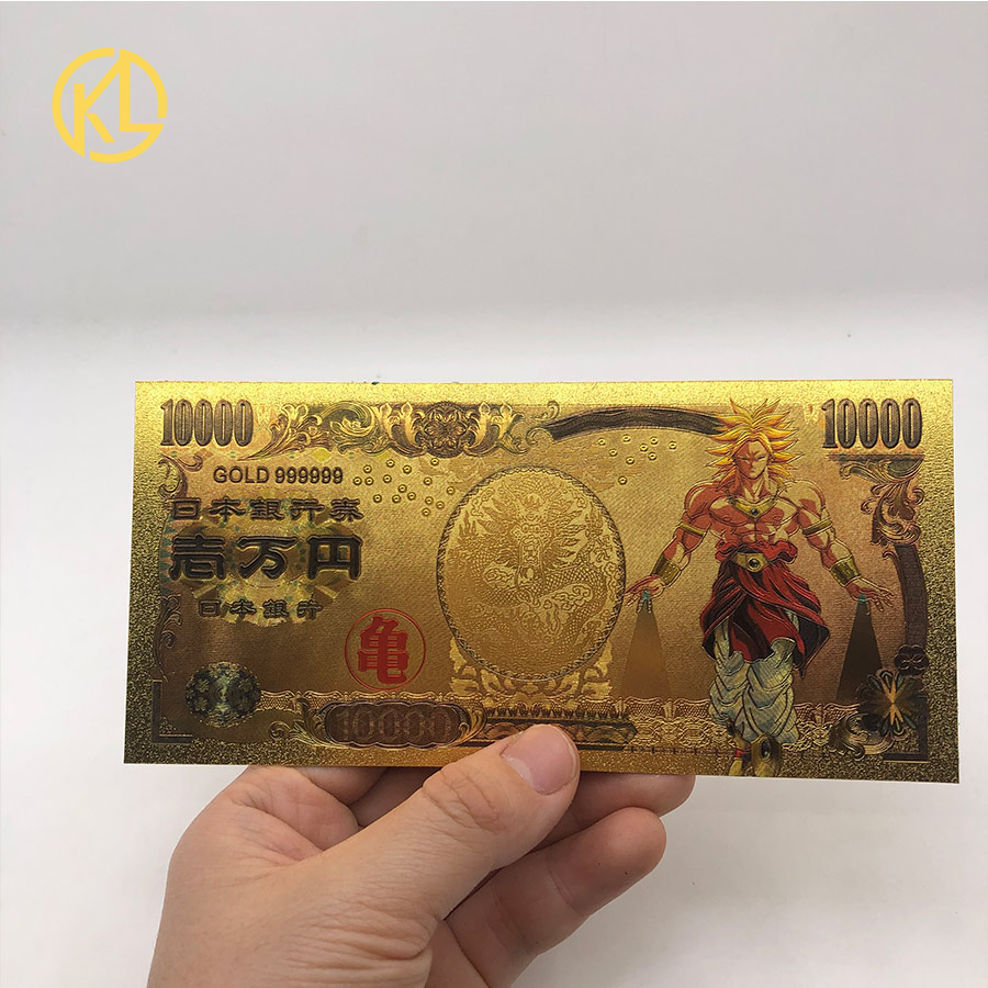 Dragon Ball Z Money//Yen Gold Collectible DBZ Japan  Vegeta Bundle