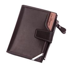 Dihope Leather Men Wallets Card Holder Photo Holder Large Ca