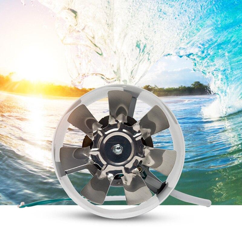 Ev Aletleri'ten Egzoz Fanları'de 2800R/dak kanal yükseltici havalandırma fanı Metal 220V 25W 4 inç Inline kanal Fan egzoz havalandırma kanalı fan aksesuarları title=