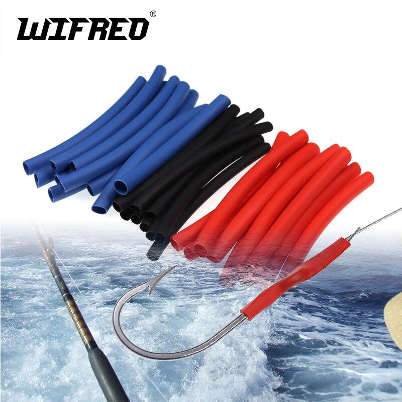 Wifreo 1PAK 3X High Quality Saltwater Fishing Shrinking Tube Carp Sea Fishing Rig Shrink Tubes Hook Shank Eye Protecting Cover