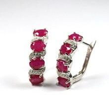 למעלה איכות אופל אבזם עגילי טבעי חן תכשיטים 925 סטרלינג תכשיטי כסף לנשים חתונה מתנה tbj קידום