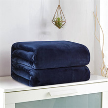 Soft Warm Coral Fleece Blanket for Bed Plush Solid Color Bed Covers for sofa Soft Adult Fleece Throw Blankets Flannel Bedspread for the Couch modern minimalist soft coral fleece blanket plaid stripe blankets thick blanket throw for sofa bed travel deken flannel cobertor