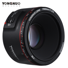 용인 YN50mm F1.8 II 렌즈 표준 프라임 렌즈 캐논 EOS 70D 5D2 5D3 600D DSLR 카메라 용 대형 조리개 자동 초점 카메라 렌즈