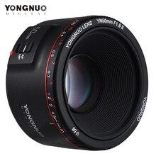 YONGNUO lente YN50mm F1.8 II, objetivo fijo estándar de gran apertura, lente de la cámara de enfoque automática para Canon EOS 70D 5D2 5D3 600D DSLR