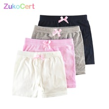 Pants Hildren Cute Shorts Safety Girls Kids Summer Clothing Cotton for 3-10-Years-Old