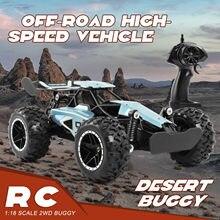 Sinovan rc carro 20km/h de alta velocidade carro máquina controlada rádio 1:18 controle remoto carro brinquedos para crianças presentes rc deriva