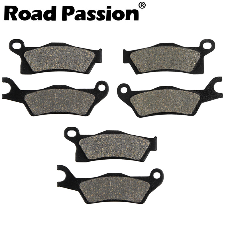 2013-2016 Can Am F+R Brake Pads Outlander 450 L 500 650 Max Mmr 800 R 1000 NEW