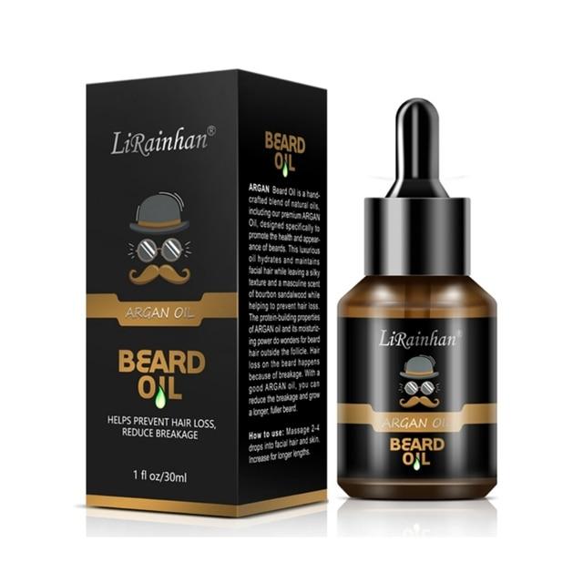 Top 30ml Pro Men Beard Growth Enhancer Liquid Facial Nutrition Moustache Grow Beard Shaping Tool Beard Oil 2