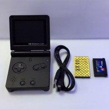 Nowy GB oświetlenie dworcowe chłopiec SP PVP przenośny odtwarzacz gier 8-Bit konsola do gier z Bulit w 142 gry w stylu Retro do gier