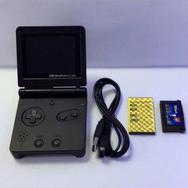 Nuevo Mando de juegos de 8 bits con luz SP PVP de chico con estación GB, consola de juegos con bulit-in 142, estilo Retro para juegos