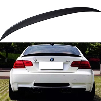 P Style For BMW E92 Spoiler 3 Series 2 Door E92 M3 & E92 Coupe Carbon Spoiler Performance Style 2005 - 2012 image