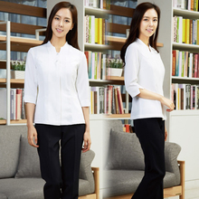 New style cosmetologist work clothes Korean spa physiotherapy technician suit beauty salon care