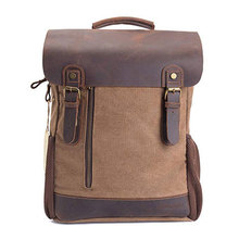 Vintage Canvas Backpack Unisex Travel Rucksack for Laptop Hiking School Bookbag Daypacks Computers Laptop Backpacks