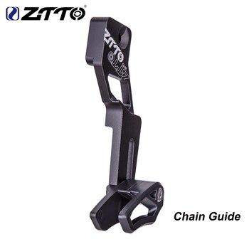 Сеть ZTTO MTB направляющая велосипедная оправа с цепочкой Защитная крышка прямое Крепление 1X система направляющая цепи для 1x цепного кольца 32T 34T 36T 38T 40T