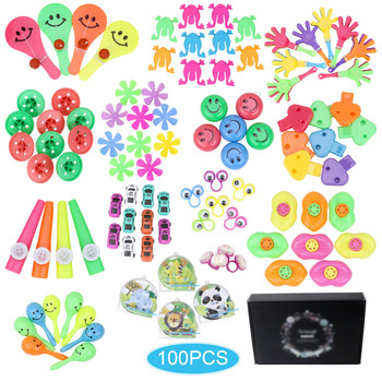 100pcs Kids Puzzle Toy Party Supplies Toys Birthday  Fillers Party Gift Classroom Treasure Box  birthday toys 10pcs self ink stamps kids party favors event supplies drawing toys for birthday party toys boy girl stamps toys