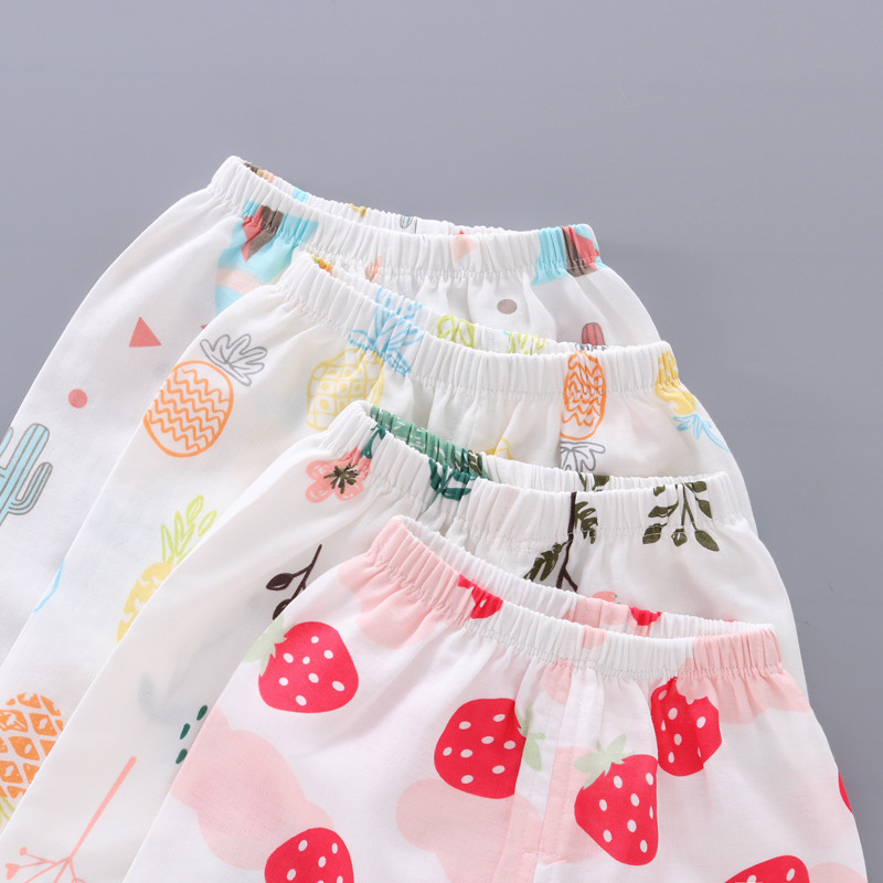 Spring Summer Kids Anti Mosquito Pants Baby Casual Trousers Thin Air Conditioning Pants Baby Pajama Clothing Kids Leggings 3