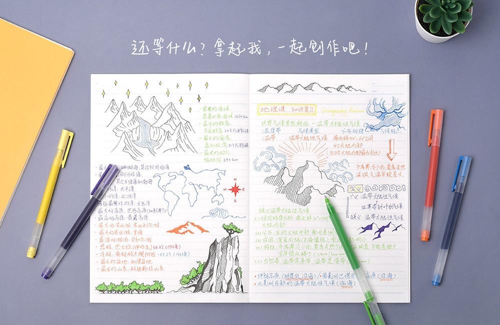 Los bolígrafos de colores de Xiaomi son algo real