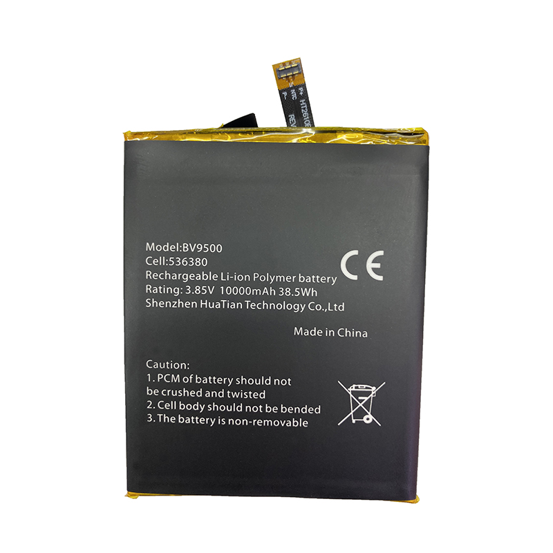 100% Original <font><b>10000mAh</b></font> BV9500 Battery For <font><b>Blackview</b></font> BV9500 Pro MT6763T 536380 Phone Latest Production Battery+Tracking Number image