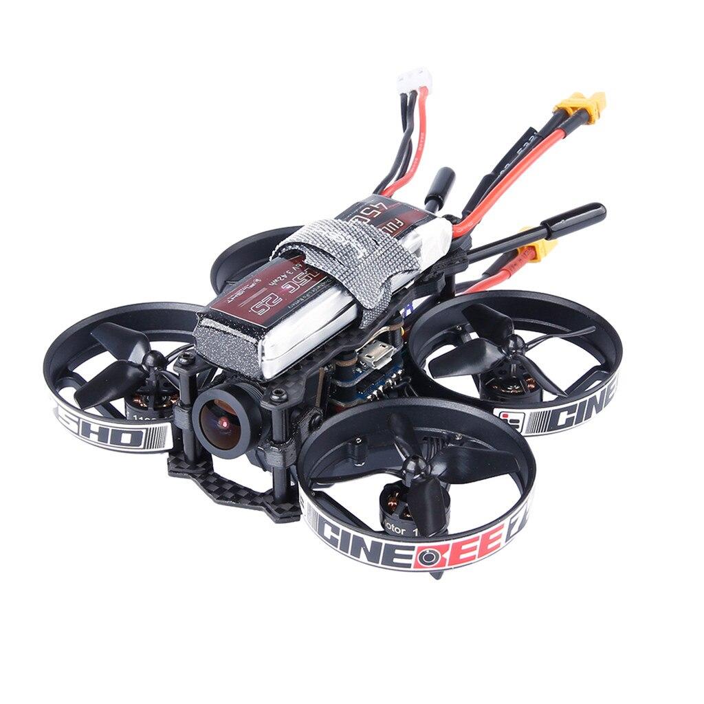 2019 новогодние подарки игрушки для детей мальчик игрушка iFlight CineBee 75HD Крытый FPV гоночный Дрон мини Квадрокоптер 75 мм Whoop игрушка - 4